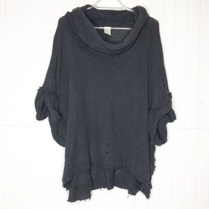 Free People   Slouchy Short Sleeve Sweater